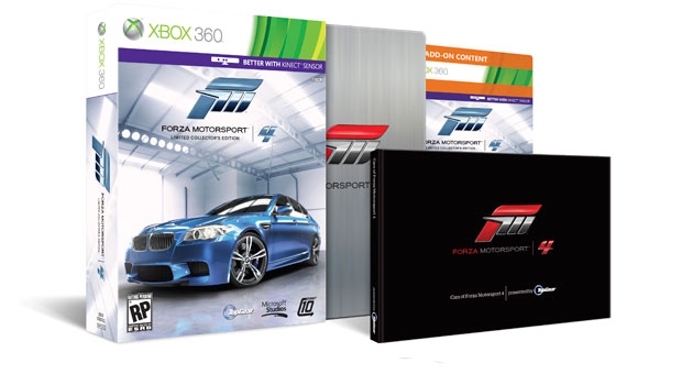 Forza Motorsport 4 Limited Collector's Edition Announced