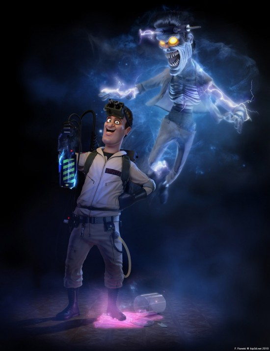 Is Ghostbusters Getting The Pixar Treatment?