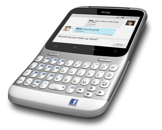 HTC Introduces The Facebook Phone