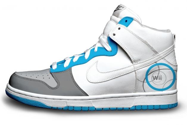 Nike'd Up: Nintendo Wii Nike Sneakers