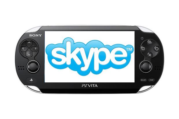 Sony PlayStation Vita Offering Skype Support