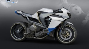 The BMW Ghost Motorcycle Concept