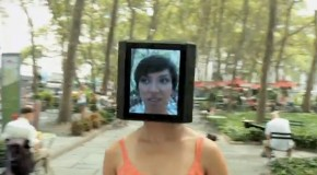 WTF? Meet The iPad Head Girl