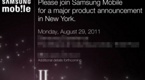 Samsung To Announce Galaxy S2 August 29th