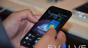 EvolveTV Exclusive: Samsung Galaxy S II Launch (Media & Security Video)