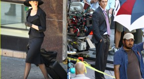 New Dark Knight Rises Footage Shows Off Bruce Wayne's New Lamborghini & Stylish Swag