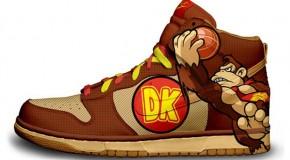 Nike'd Up: Donkey Kong Nike Sneakers