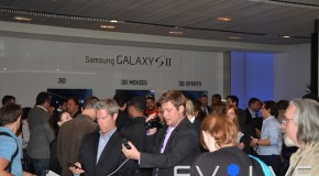 EvolveTV Exclusive: Samsung Galaxy S II Launch (Features Video)