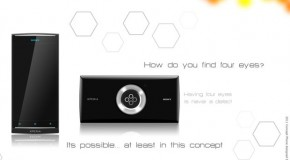 Sony Xperia Yu Concept Sports 4 Cameras & Second Programmable Touchscreen