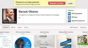 Barack Obama Pinterest Account Official As He Posts First Pin