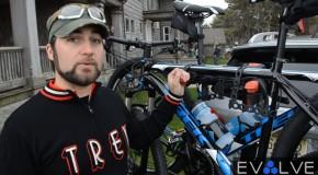 EvolveTV: Subaru-Trek Showcases New Car-Bike Rack