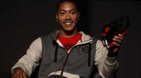 Derrick Rose Unveils New Adidas D Rose 3 Collection, Weeps At Event