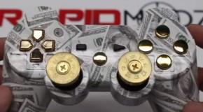 "Rapidmodz ""Money Talks"" PS3 Modded Controller"