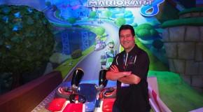 E3 Exclusive Mario Kart 8 Preview at Nintendo Booth