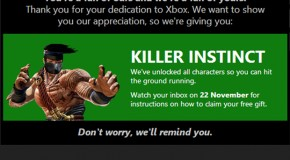 Microsoft Offering Free Xbox One Killer Instinct Game to Select Xbox Live Subscribers
