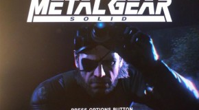 Kojima Shares New 'Metal Gear Solid V: Ground Zeroes' Images & Box Art