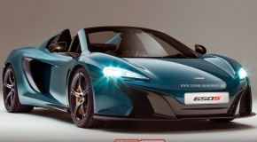 McLaren 650S Goes Topless In Awesome Rendering