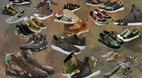 The Hottest Camouflage Sneakers to Wear This Summer