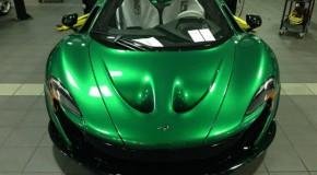 McLaren P1 Receives Stunning One-Off Emerald Green Treatment