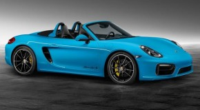 Porsche Exclusive Reveals Stunning Riviera Blue Bespoke Boxster S
