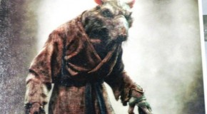 "Here is a Better Look at Splinter and Shredder in ""Teenage Mutant Ninja Turtles"""