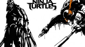 "Check Out These ""Teenage Mutant Ninja Turtles"" Retro-Graffiti Posters"