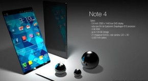 Samsung Galaxy Note 4 Concept Tackles Insane Spec Sheet