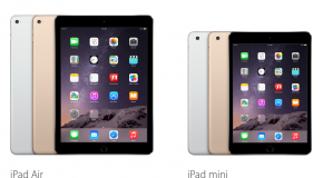 Apple Announces iPad Air 2, Mini 3, And Other Updates