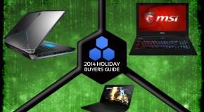 2014 Holiday Gift Guide: Top 5 Best Gaming Laptops