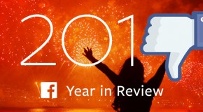 Facebook's Year in Review App Pisses Off Users Who've Experienced A Terrible 2014