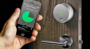 August Smart Lock Lets You Buzz in Guests Remotely